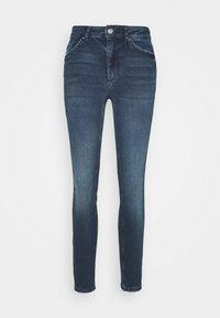 Pieces - PCDELLY - Jeans Skinny Fit - dark blue denim - 0