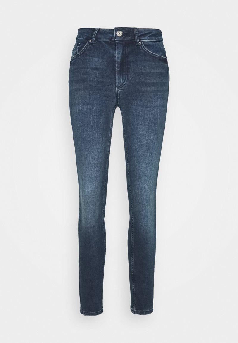 Pieces - PCDELLY - Jeans Skinny Fit - dark blue denim