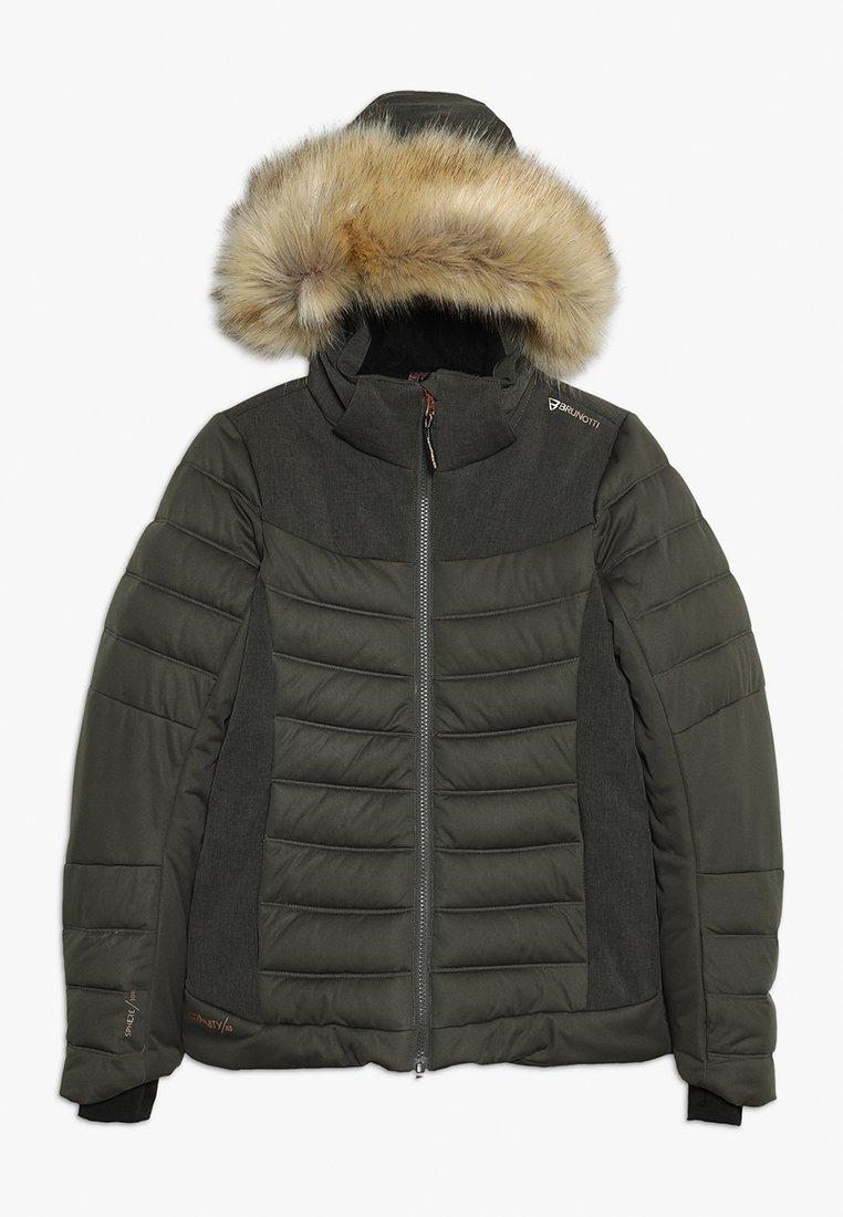 Brunotti - JACIANO JRGIRLS SNOWJACKET - Laskettelutakki - pine grey