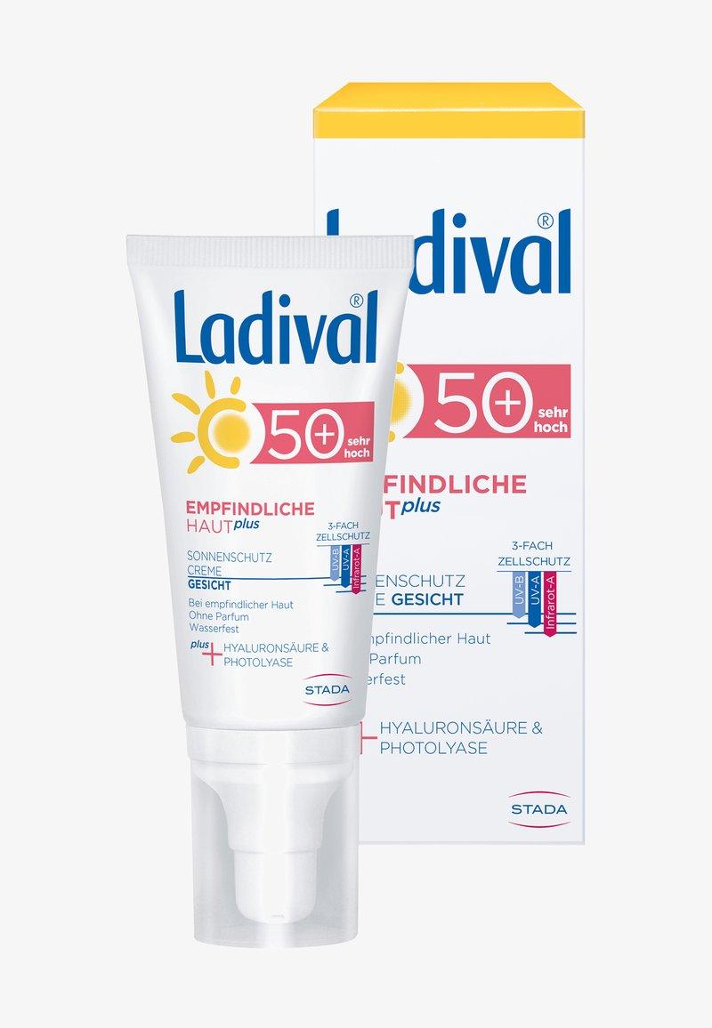 Ladival - SONNENSCHUTZ EMPFINDLICHE HAUT PLUS SONNENSCHUTZ CREME FÜR GESIC - Sun protection - -