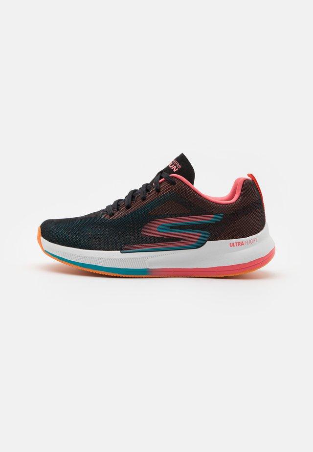GO RUN PULSE - Chaussures de running neutres - black/multicolor