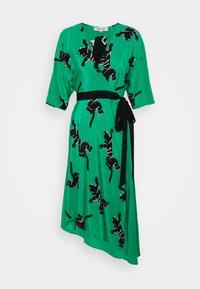 Diane von Furstenberg - ELOISE - Vapaa-ajan mekko - medium green - 5
