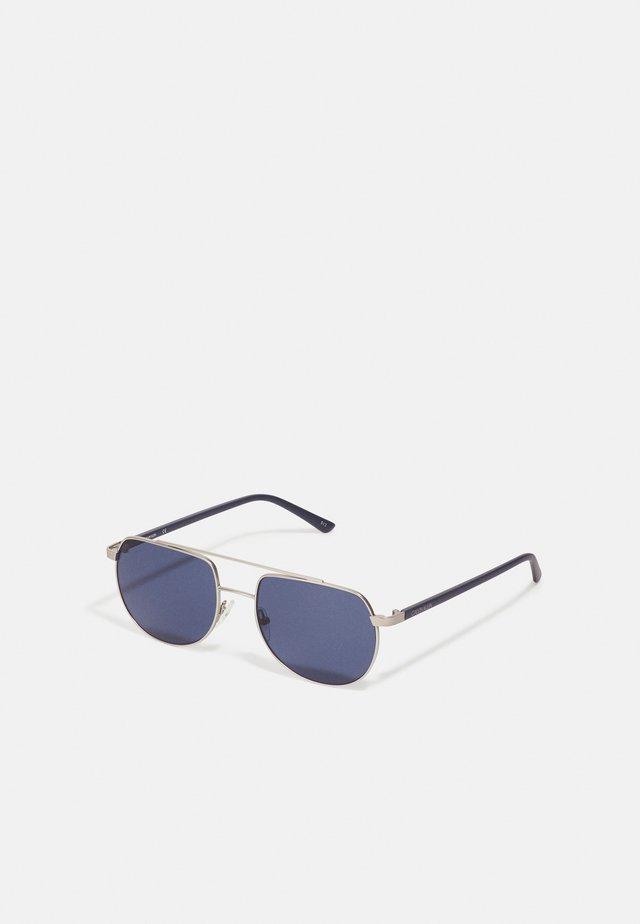 UNISEX - Sunglasses - matte silver-coloured