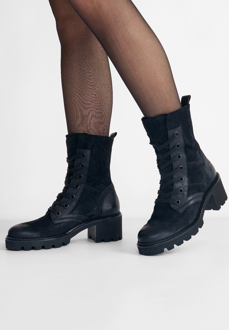 Paul Green - Lace-up ankle boots - schwarz 017