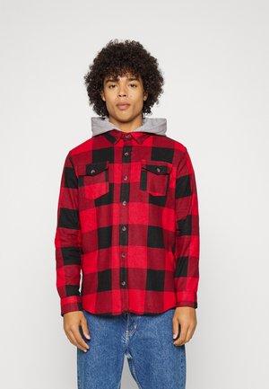 INGARO - Shirt - red/jet black