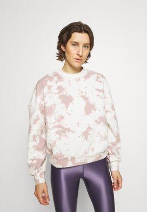 ERWIN - Sweater - taupe/tie dye