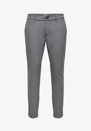 ONSMARK  - Trousers - medium grey melange
