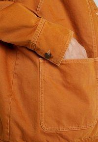 Monki - SARAH JACKET - Short coat - tobacco/dark brown - 4