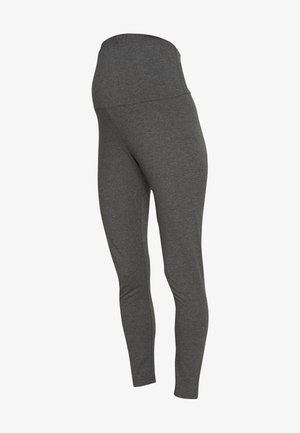 MATERNITY  - Leggings - Trousers - charcoal marle