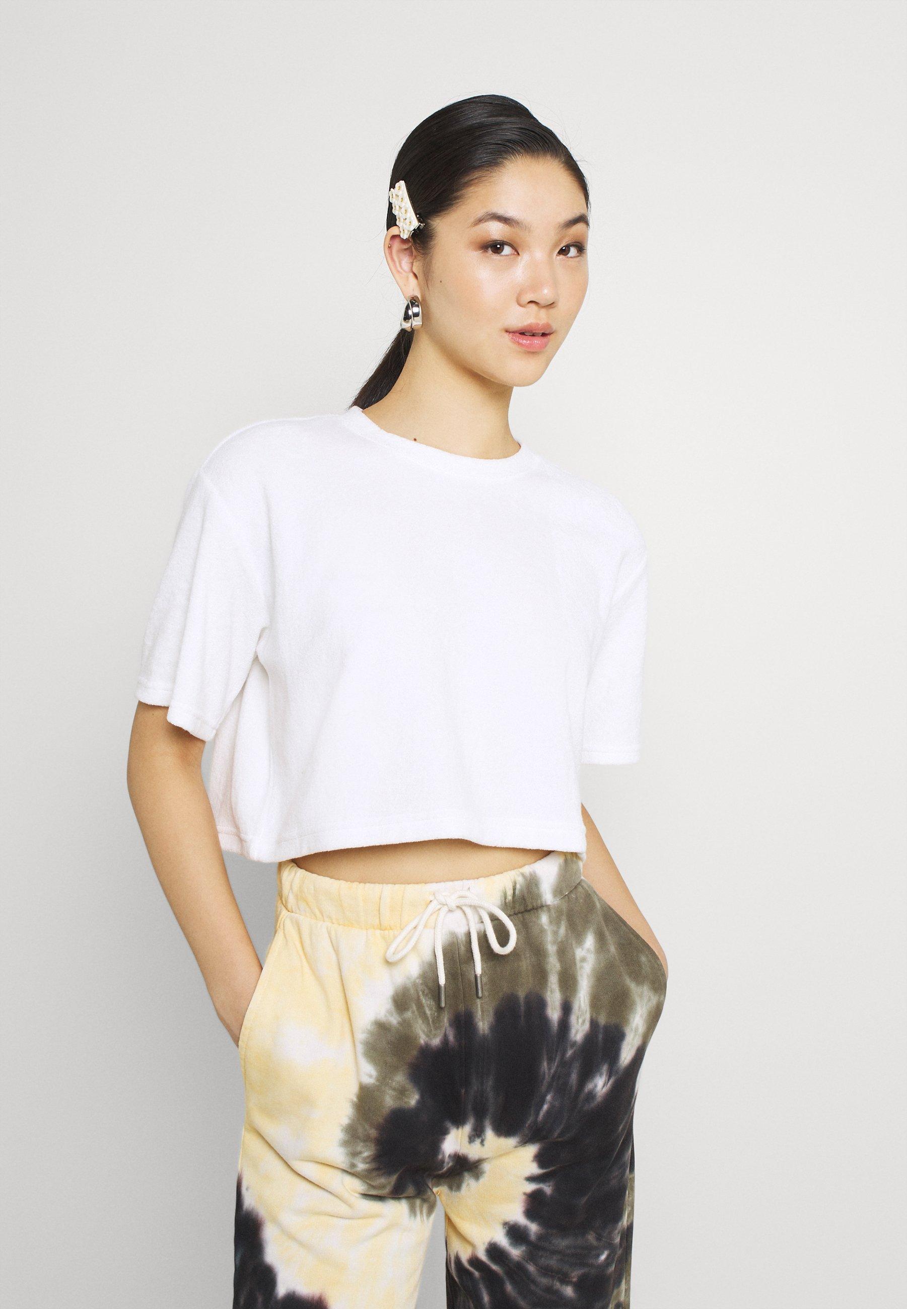 Damen AVA TOWELLING TEE - T-Shirt basic