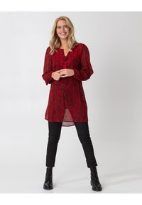 Indiska - Tunic - red - 3