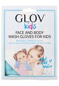 Glov - HAPPY CLEANING SET FOR KIDS - Skincare set - blue - 1