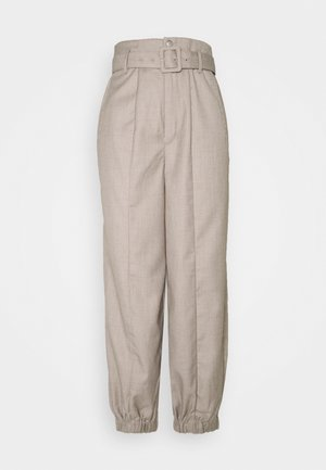 VIRA PANTS - Trousers - walnut