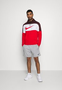Nike Performance - DRY  - Felpa con cappuccio - mystic dates/university red - 1