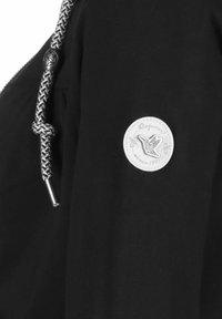 Ragwear - ABBIE - Zip-up sweatshirt - black - 3