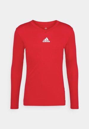 TEAM BASE TEE - Long sleeved top - red