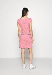 Ragwear - TAG - Žerzejové šaty - pink - 2