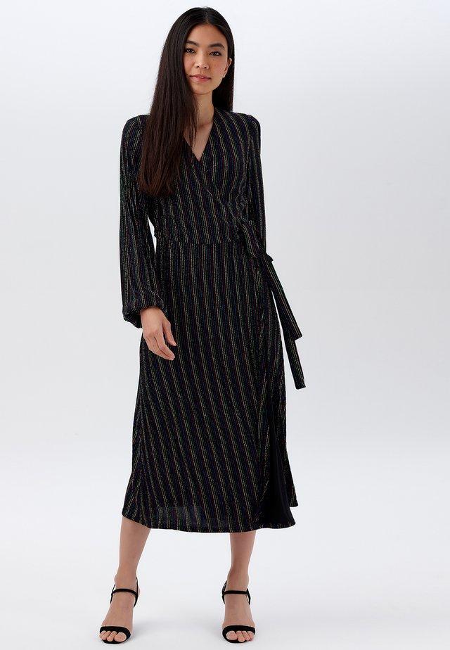 SARA RAINBOW - Day dress - black