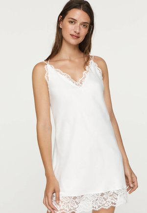 MIT SPITZENDETAIL  - Nightie - white