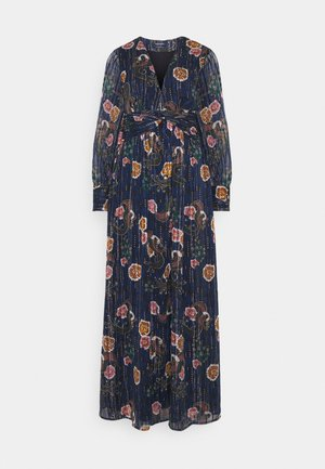 PRINTED MAXI DRESS IN STRIPE QUALITY - Day dress - combo