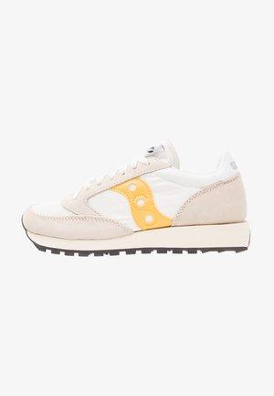 JAZZ VINTAGE - Sneakersy niskie - cement/yellow