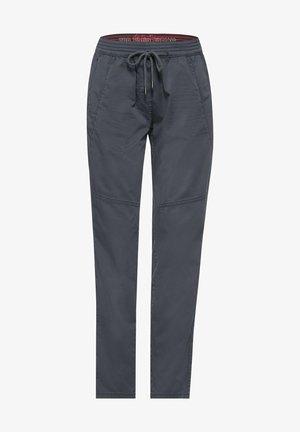 CASUAL FIT HOSE - Trousers - grau