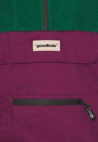 GOODBOIS - RAW ANORAK - Windbreaker - forest/burgundy/beige - 2