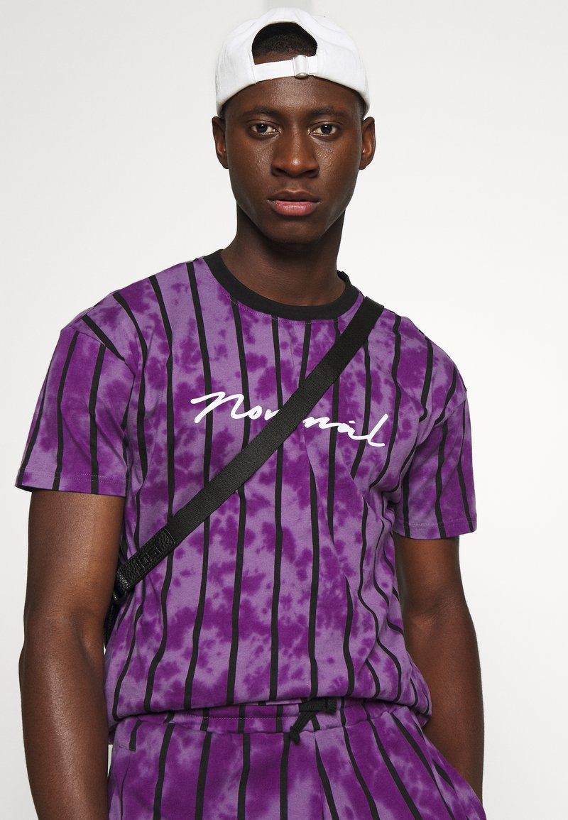 Nominal ALBA TEE - T-Shirt print - purple/lila 7pkpi0