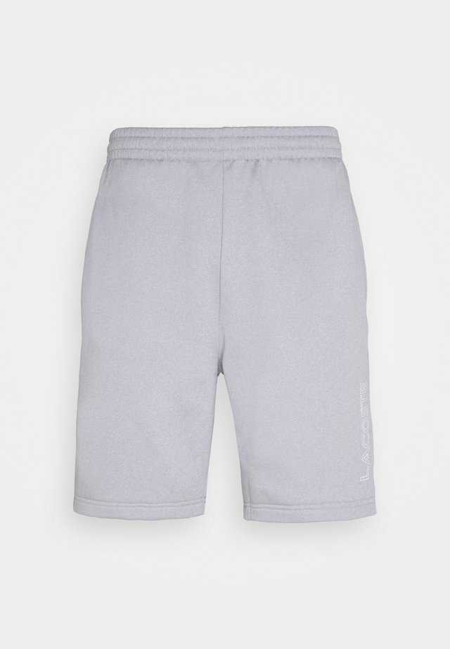 TECH SHORT - Short de sport - silver chine/elephant grey