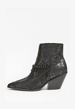 PATZIY PYTHON - Ankle boots - noir