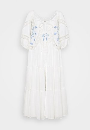 DELILAH EMBROIDERED MAXI - Blouse - ivory combo