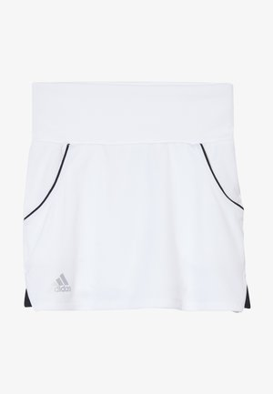 CLUB SKIRT - Falda de deporte - white/silver/black