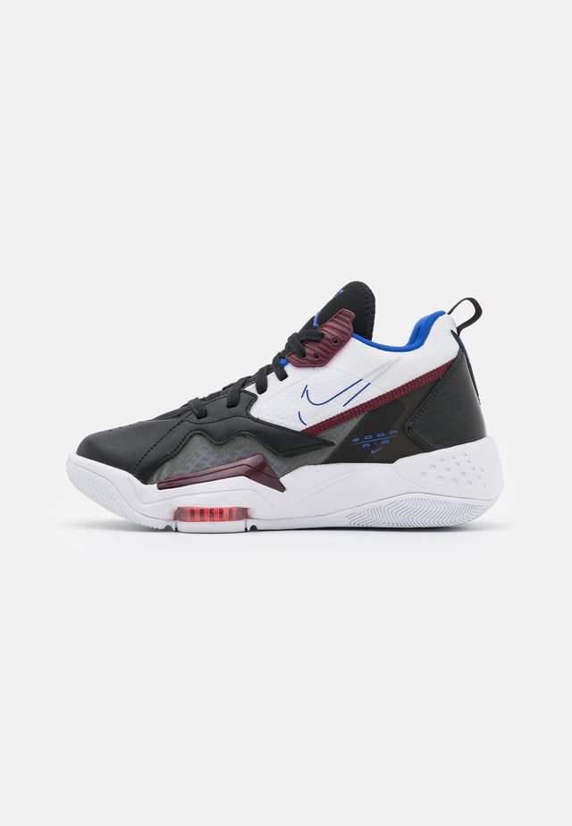 ZOOM '92 - Sneakers hoog - black/hyper royal/dark beetroot/white