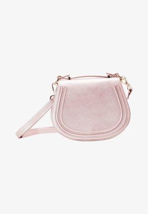 Across body bag - pink metallic