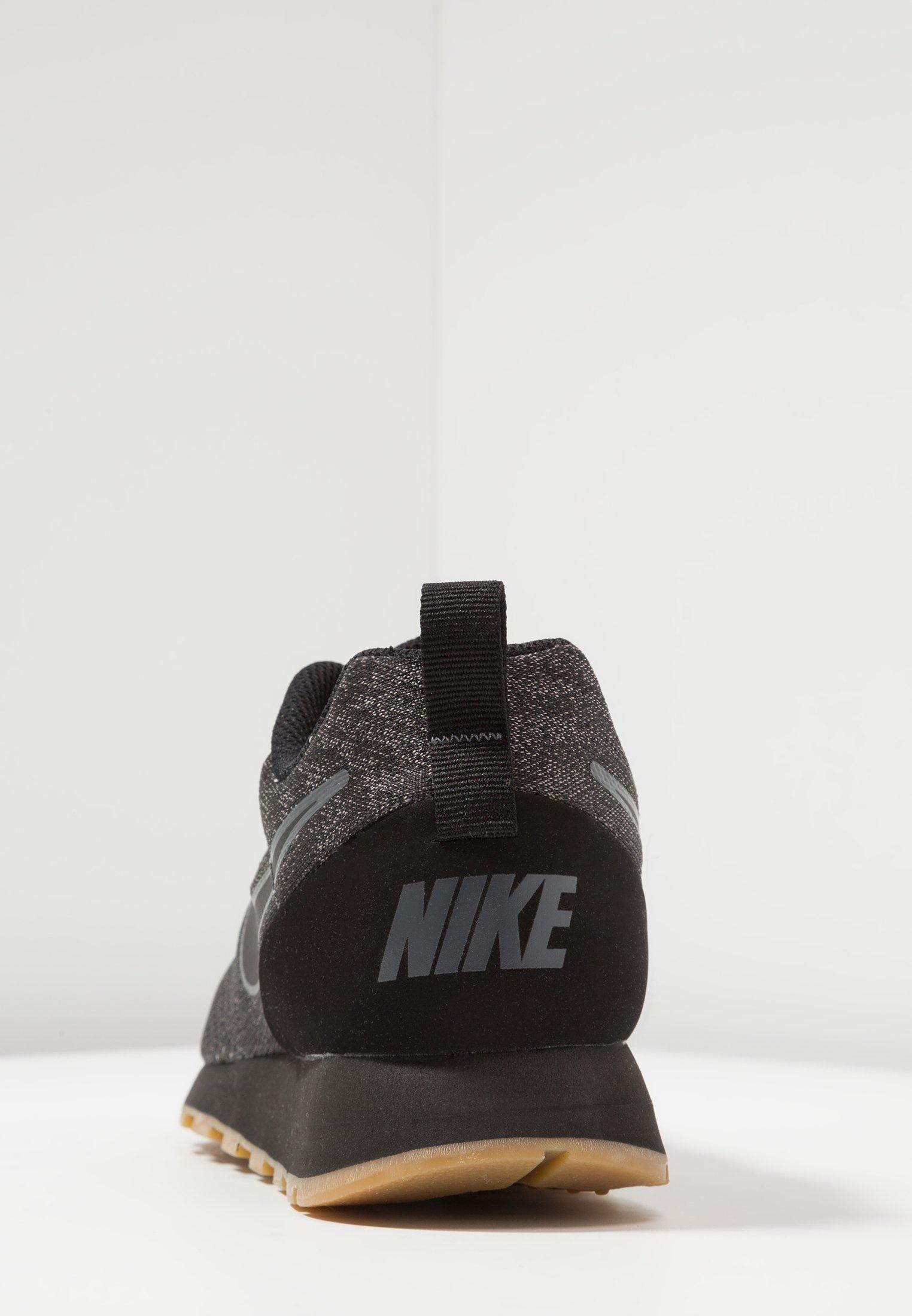 Nike Herren Md Runner 2 Eng Mesh Laufschuhe, Schwarz Schwarz