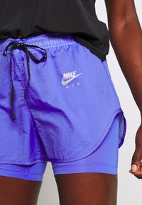 Nike Performance - 2IN1 SHORT - Pantalón corto de deporte - sapphire/light thistle/reflective silv - 4