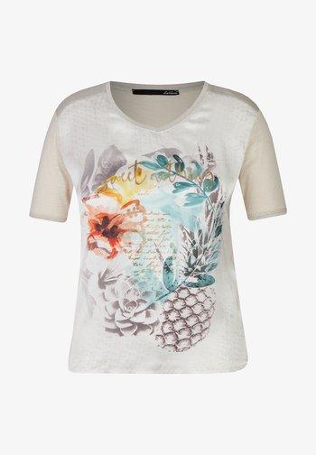 Print T-shirt - grün