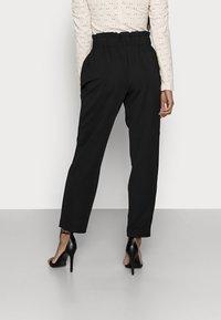 ONLY Petite - ONLHADEYA HALFRID PANT - Trousers - black - 2