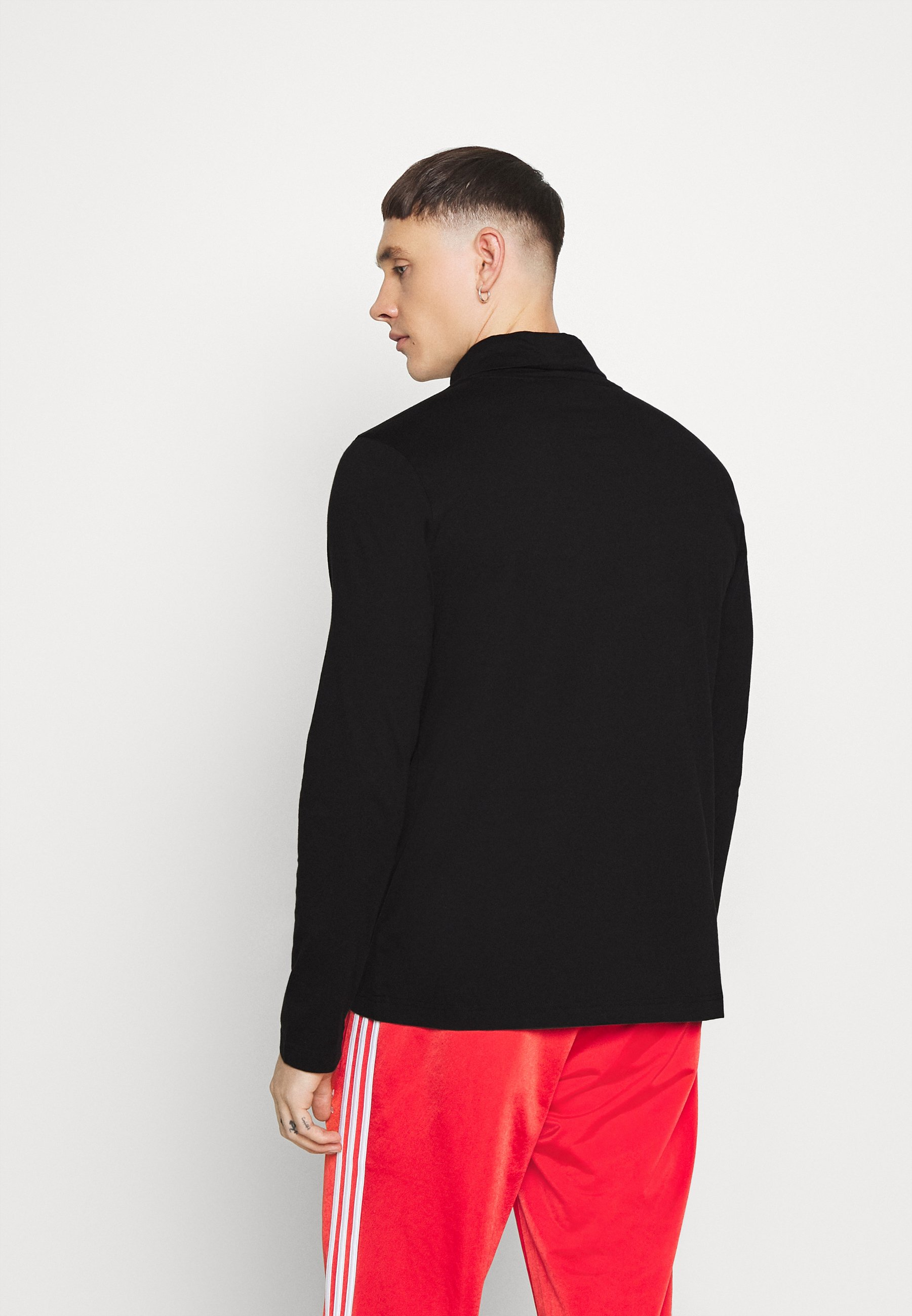 adidas Originals BASE LAYER - Long sleeved top - black oFU7p