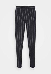 JPRBLATROPICAL TROUSER - Trousers - dark navy