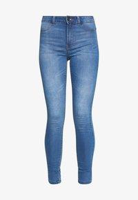 JDY - JDYNIKKI HIGH - Jeans Skinny Fit - light blue denim - 4