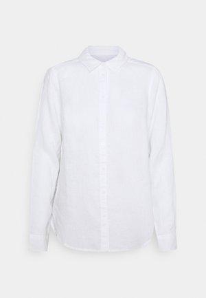 BECKY - Button-down blouse - white