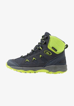 CASCADE - Winter boots - marine/lemon
