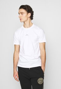 Good For Nothing - FITTED WITH STACKED BRANDING - T-shirt imprimé - white - 0