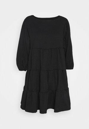 OBJSIF 3/4 DRESS - Denní šaty - black