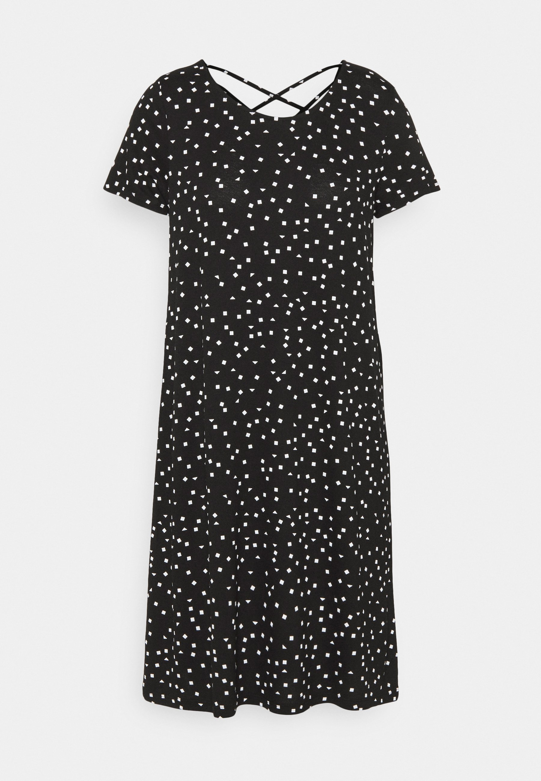 Damen ONLBERA BACK LACEUP DRESS - Jerseykleid