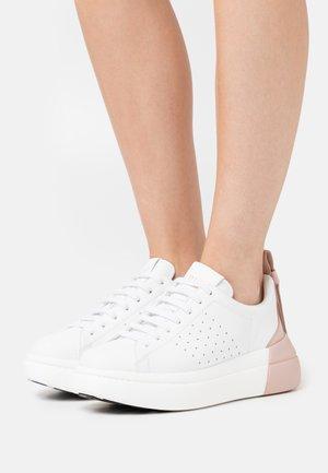 Sneakers - bianco/nude
