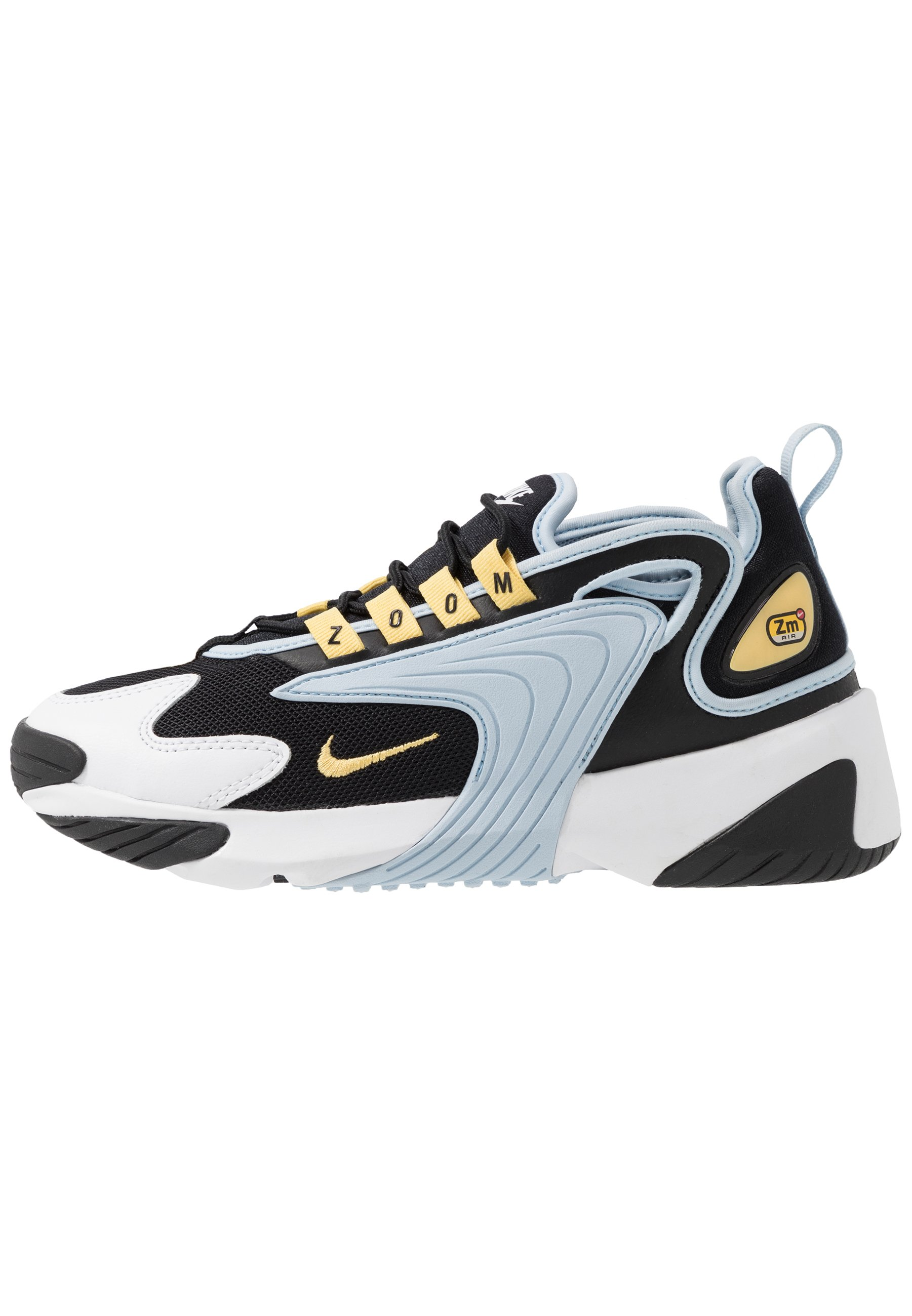 Nike Sportswear ZOOM 2K - Baskets basses - white/black/blanc ...