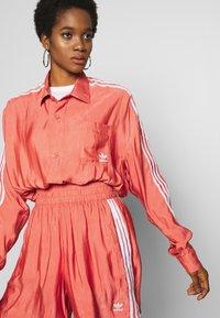adidas Originals - BUTTON UP - Button-down blouse - trace scarlet - 3
