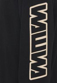 WAWWA - LONGSLEEVE UNISEX - Long sleeved top - black - 2
